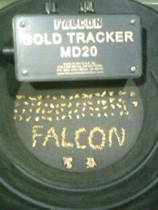 19 grams of gold found in a week with Falcon.